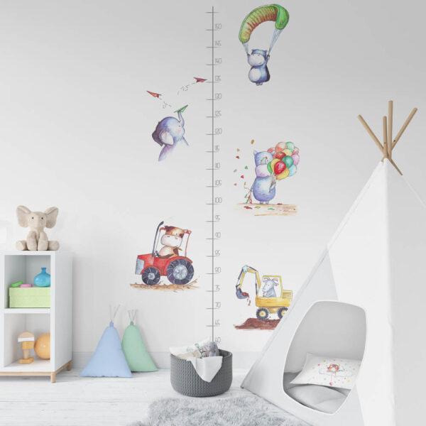 magasságmérő falmatrica mARTás