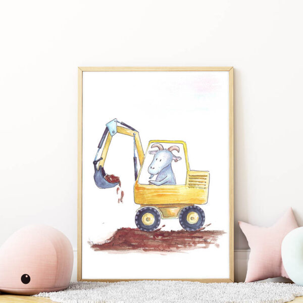 markolós kecske falikép gyerekszobába mARTás