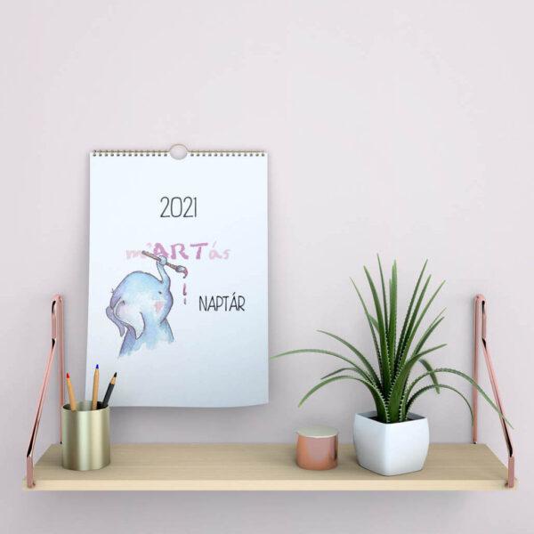 2021-es falra akasztható naptár mARTás