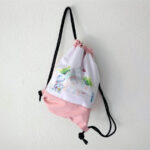 állatkertes gymbag táska gyerekeknek tornazsák mARTás rózsaszín