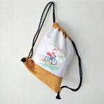 bicikliző rókás tornazsák gymbag mARTás