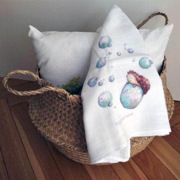süni buborékokkal textilpelenka mARTás