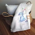 falra rajzoló kiselefánt textilpelenka mARTás
